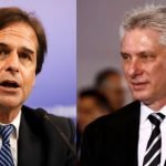 """Presidente de Uruguay recitó """"Patria y Vida"""" en la cara del dirigente de Cuba"""